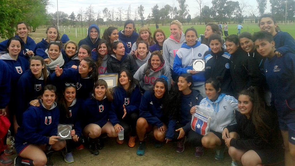 1er torneo de f tbol femenino universidad cat lica de - Club nautico santander ...